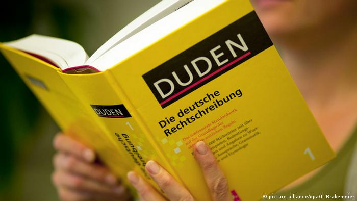 معجم دودن حاضر في المكتبة في معظم البيوت الألمانية