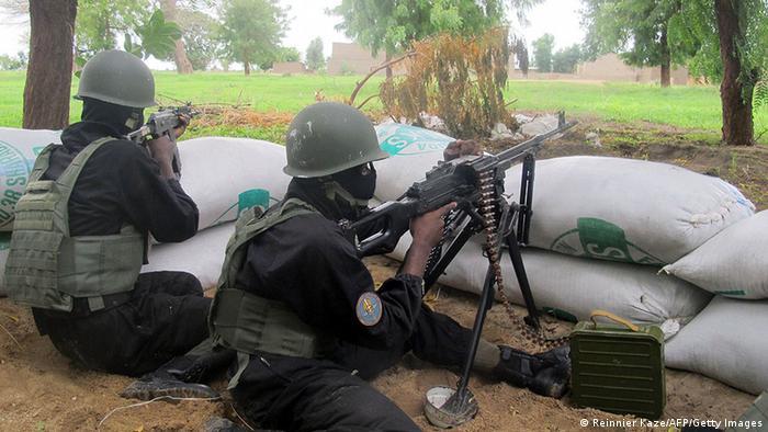 Kamerun Amchide Polizei Spezial Soldaten Anti Boko Haram 07/2014