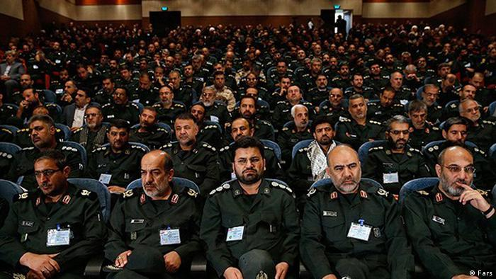 Versammlung der Kommandeure der Revolutionswächter (Sepah Pasdaran)