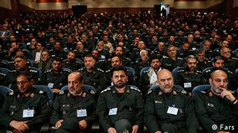 A meeting of commanders of the Revolutionary Guard