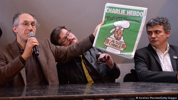 Charlie Hebdo Pressekonferenz 13.01.2015 (Aurelien Meunier/Getty Images))