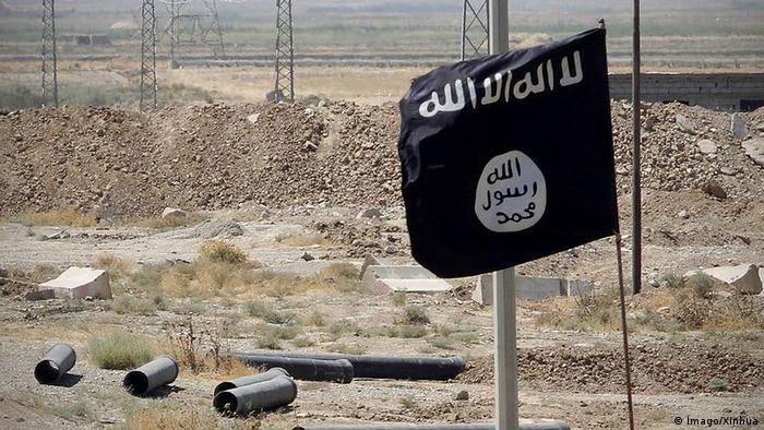 Irak Islamischer Staat Fahne ISIS