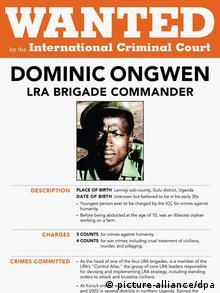 Internationaler Strafgerichtshof Fahndungsplakat Dominic Ongwen