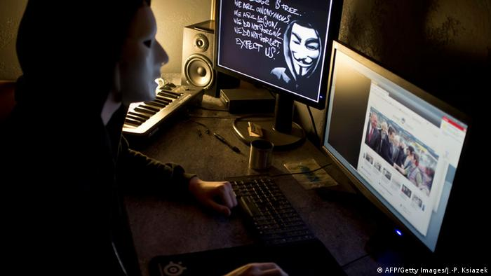 Symbolbild Computerkriminalität