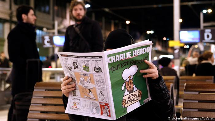 Charlie Hebdo Verkauf in Paris 14.01.2015