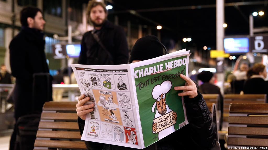 Charlie Hebdo weltweit