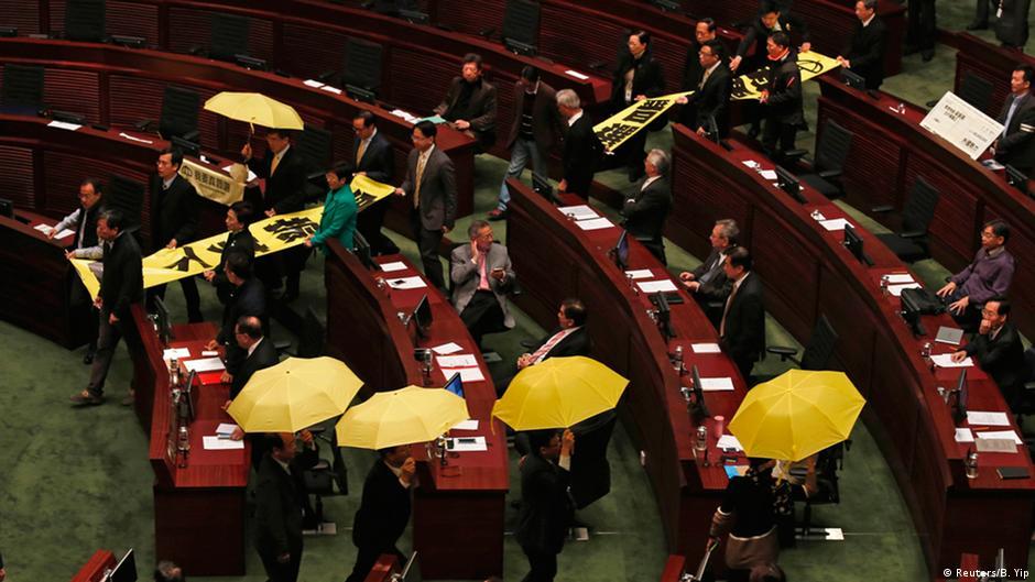 umbrella democracy and universal suffrage