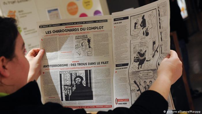 Charlie Hebdo - 1. Ausgabe nach Attentat