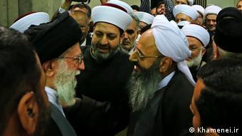 Iran Mowlawi Abdolhamid und Ayatollah Ali Khamenei (Khamenei.ir)