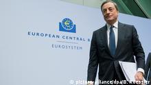 Mario Draghi, Präsident der Europäischen Zentralbank 04.12.2014