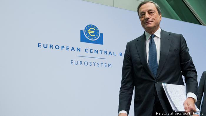 Mario Draghi, Präsident der Europäischen Zentralbank (Foto: dpa)
