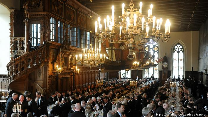Banquet room in Bremen City Hall