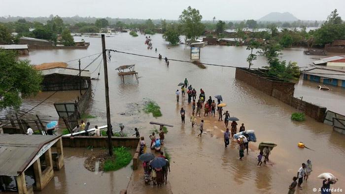 Regenfälle in Mosambik