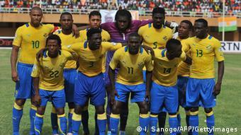 Gabun Fußball Nationalmannschaft