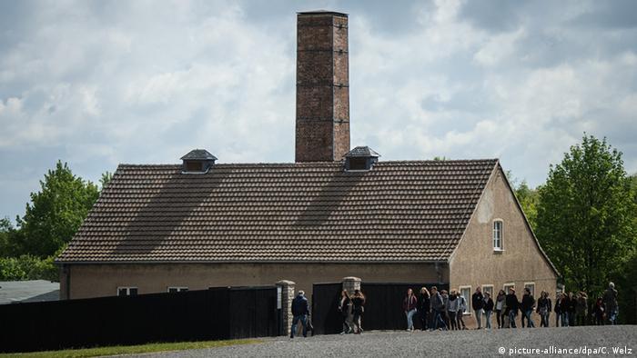 Крематорий в Бухенвальде