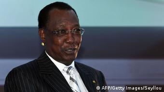Chadian President Idriss Deby.