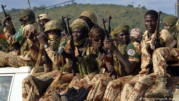 Soldaten aus dem Tschad