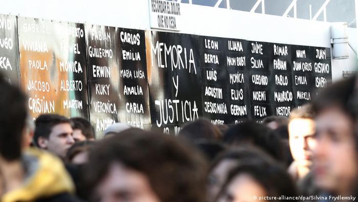 Argentinien Jahrestag Anschlag auf AMIA in Buenos Aires