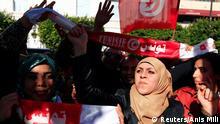 Tunesien Feier zum 4. Jahrestag der Revolution 14.01.2015