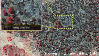 Amnesty International Satellitenaufnahme (Foto: DigitalGlobe)