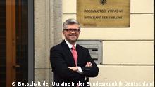 ***Achtung: Nur zur mit den Rechteinhabern abgesprochenen Berichterstattung verwenden!*** Neuer Botschafter von Ukraine in Deutschland Andriy Melnik (Melnyk), Porträt (C) Ukr. Botschaft Berlin