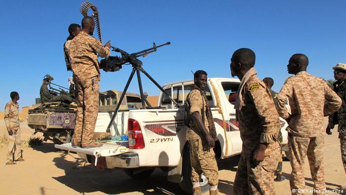 Tebu miliitamen get set for war in Libya's remote south