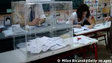 Griechenland Wahlurne 2012