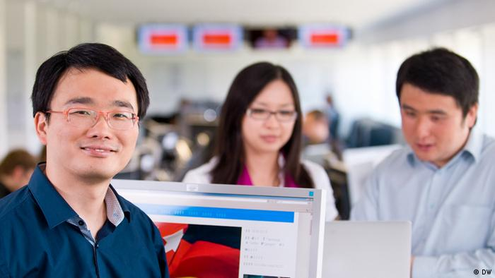 Social Media: Das Team der China-Redaktion
