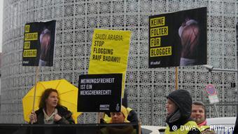 Amnesty-Aktion für Blogger Raif Badawi