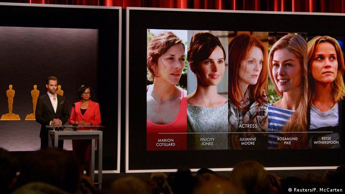 نامزدهای جایزه اسکار معرفی شدند   فرهنگ و هنر   DW.COM   15.01.2015