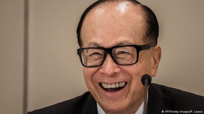 Li Ka-shing (AFP/Getty Images/P. Lopez)