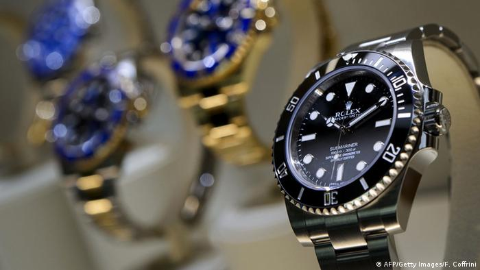 Rolex watches (AFP/Getty Images/F. Coffrini)