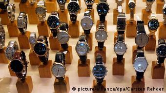 Различные модели швейцарских часов