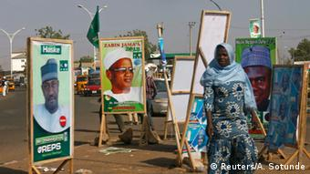 Wahlkampf in Nigeria 2015 (Reuters/A. Sotunde)