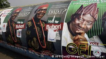 Wahlkampf in Nigeria 2015 (Foto: PIUS UTOMI EKPEI/AFP/Getty Images))