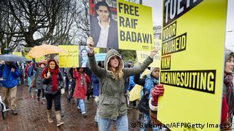 Prosvjed za oslobađanje Raifa Badavija