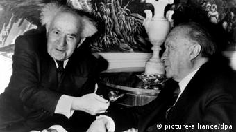 Konrad Adenauer und David Ben-Gurion 1960 in New York