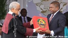 Mosambik Amtseinführung von Filipe Nyusi