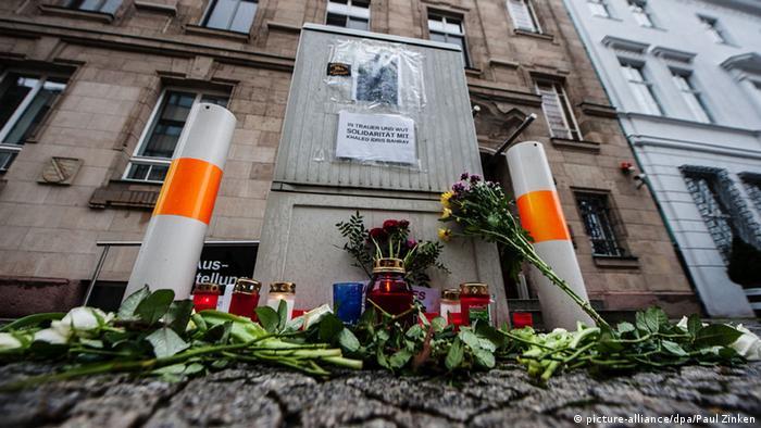 Trauer um getöteten Asylbewerber