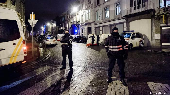 Belgien Anti-Terror-Einsatz in Verviers 15.01.2015