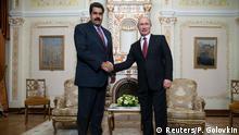 Treffen Nicolas Maduro und Wladimir Putin 15.01.2015