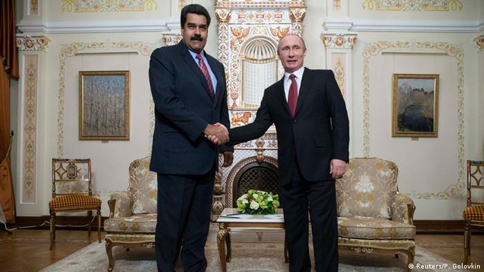 Treffen Nicolas Maduro und Wladimir Putin 15.01.2015 (Reuters/P. Golovkin)
