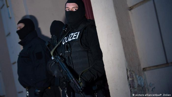 A police operation in Berlin
