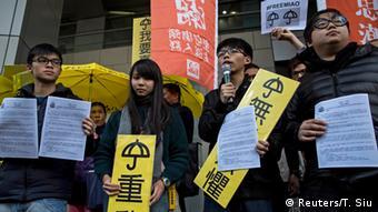 Hongkong Proteste 16.01.2015