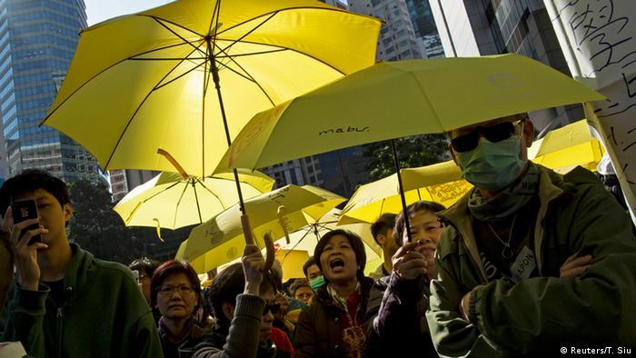 Hongkong Proteste 16.01.2015 (Reuters/T. Siu)