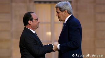 John Kerry bei Hollande 16.01.2015