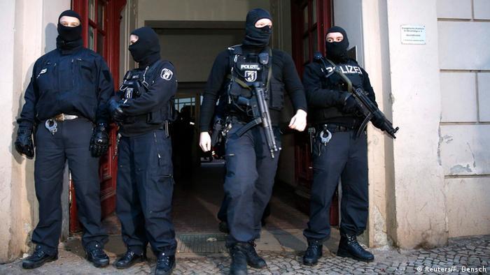 Anti-Terror Razzia in Berlin 16.01.2015