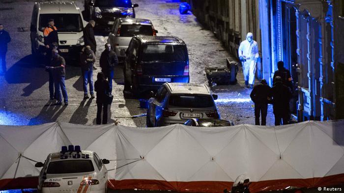Belgien Anti-Terror-Einsatz 15.01.2015