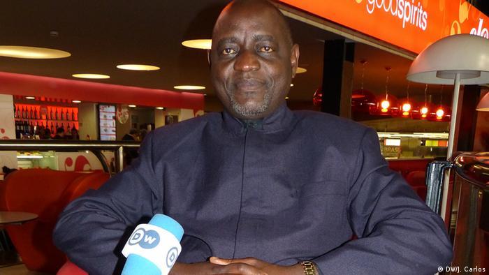 Vitorino Nhany, secretário-geral da UNITA, o maior partido da oposição em Angola