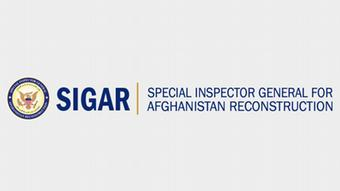 Signum des U.S. Special Inspector General for Afghanistan Reconstruction